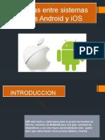 Diferencias entre sistemas operativos Android y iOS