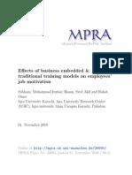 MPRA Paper 26695