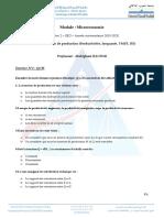 TD N° 1  Fonction de production (Productivités, Isoquante, TMST, RE).pdf