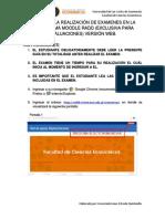 Guia Estudiantil Realización de Examenes Web Vf