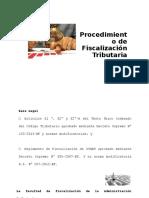 Procedimiento de Fiscalizacion