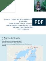 SALUD, DESASTRE Y DESARROLLO
