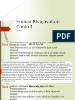 Srimad Bhagavatam Canto 1