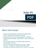 Solar PV 4