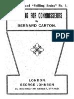 Bernard Carton-Conjuring for Connoisseurs.pdf