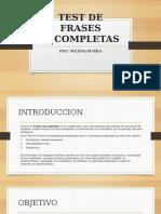 TEST DE FRASES INCOMPLETAS.pptx