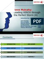24240345 Strategy Implementation Anne Mulcahy 1