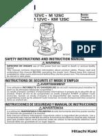 Hitachi Router M12VC Manual.pdf