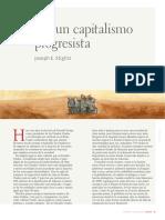 Stiglitz, Por un capitalismo progresista