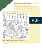 Diagrama eléctrico y conectores del motor Jeep XJ 1991 1996