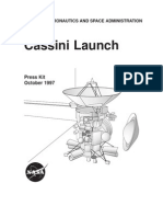 Cassini Launch Press Kit