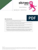 Distimo iPad Report
