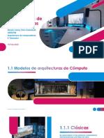UNIDAD 1 - Arquitecturas de computadoras