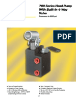 700 Series Hand Pump 22-1101g