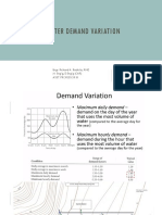 3. Demand variation