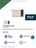 estra-neo-5-star-window ac carrier
