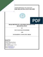 Registration Requirements TPE TCE FECF
