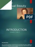 Hymn to Intellectual Beauty 1