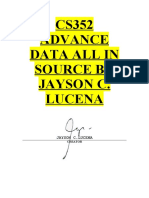CS352 ADVANCE DATA ALL IN SOURCE BY JAYSON C. LUCENA