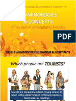 HT101_1.2 Terminologies & Concept in Tourism & Hospitality I