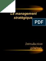 MANAGEMENT stratégique BEN