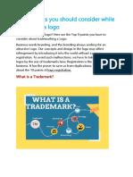 Trademark Registration in Salem, Trichy, Erode   SmartAuditor