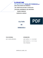 Cultura de Venezuela.docx
