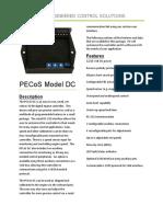 PECoS-Model-DC-Datasheet