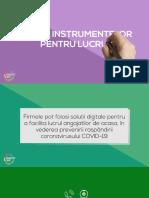 Ghidul instrumentelor pentru lucru de acasa (PDF)