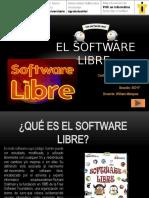 El Software Libre Lonnys Andres Contreras Claro C.I. v 30.060.103 Seccion SID1F