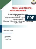 Environmental Engineering Industrial water.pptx