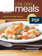 Pillsbury - One Dish Meals