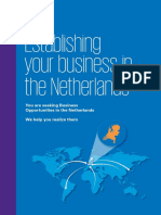 Establishing your business in the Netherlands