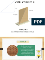 Tabiques con Drywall