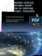 ENFERMEDADES GENETICAS PATOLOGIA GENERAL