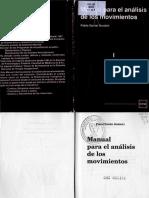 Bordoli - Manual Para El Análisis de Los Movimientos - Tomo 1