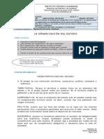 la organizacion del estado colombiano