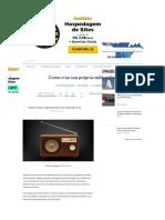 Como criar sua própria rádio online - TecMundo