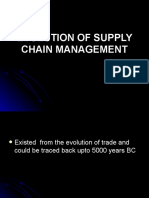 Evolution of Supply Chain Management