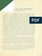S. Spielrein (1912) die Destruktion als Ursache des Werdens