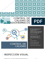 Control de CALIDAD DE RADIOFÁRMACOS