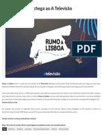 Rumo a Lisboa