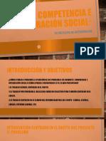 Competencia e integración social