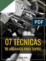 Ebook - 7 Técnicas Sopro - Rafael Oliva