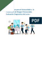 3-Evaluación Diagnostica del curso MINDFULNESS