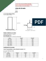 Cálculo de Coeficiente de Arrasto