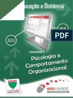 PSICOLOGIA E COMPORTAMENTO ORGANIZACIONAL - unidade I.pdf