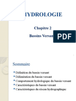 Hydrologie_msi Ch2 Bassin Versant_m