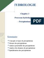 Hydrologie_msi Ch3 Précipitations_m
