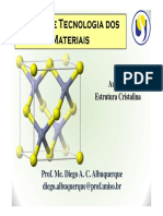 Aula 04 - CTM - Estrutura Cristalina Parte I e II